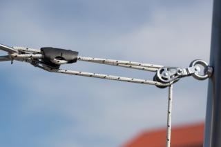Edelstahlmast für Sonnensegel - COMFORT - 60x3 - 3m